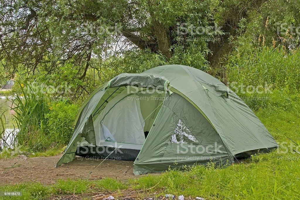 Tent Camp royaltyfri bildbanksbilder