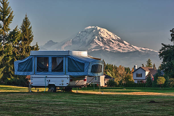 Best Pop Up Camper Stock Photos, Pictures & Royalty-Free