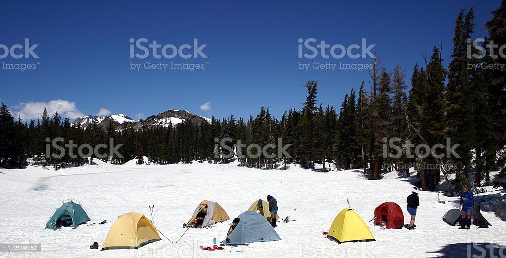 Tent City royalty-free stock photo