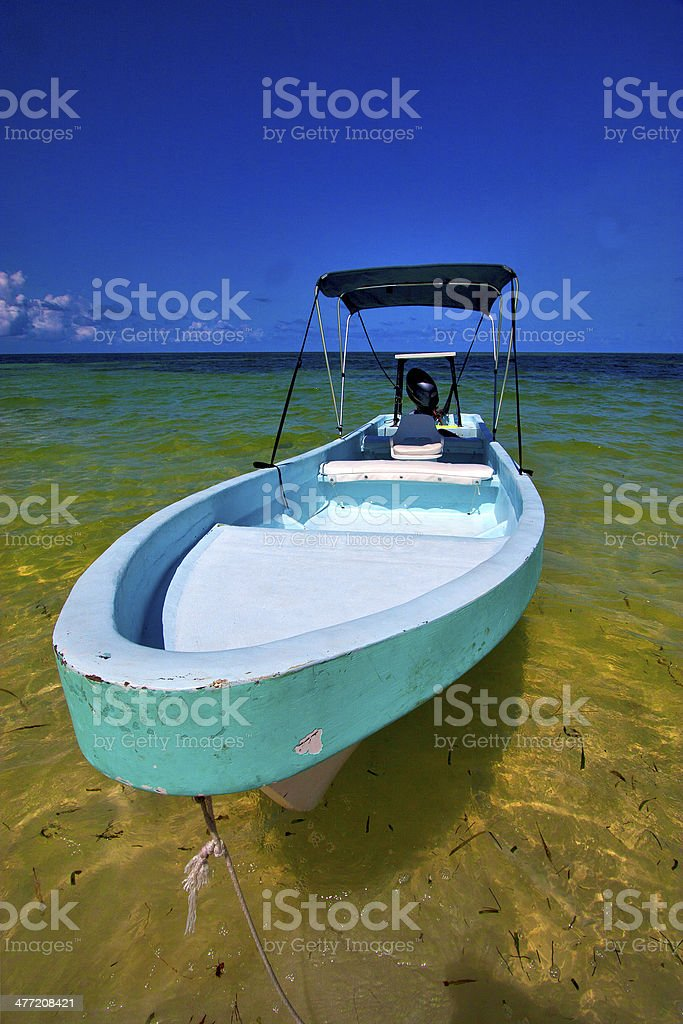 tent in the  blue lagoon relax and boat   of sian stock photo