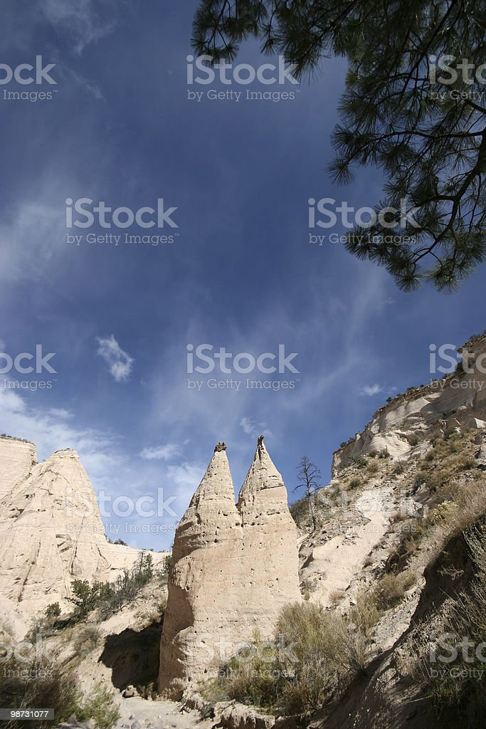 Tent Rocks photo libre de droits