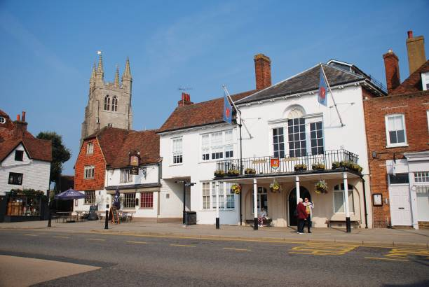 Tenterden Town Hall, Kent stock photo