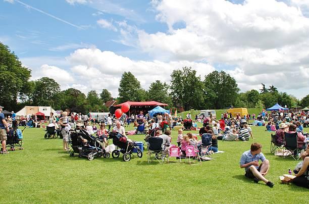 Tentertainment music festival, England stock photo