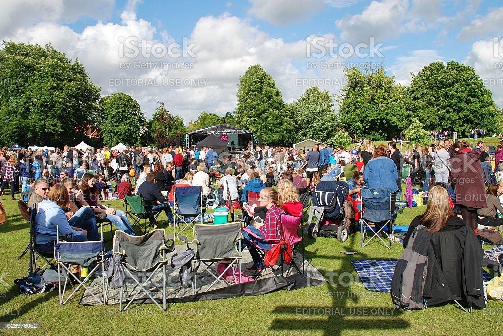 Tentertainment music festival, UK stock photo