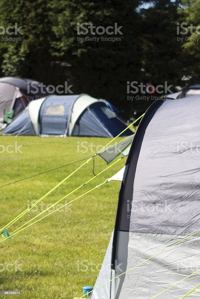 Tents royalty-free stock photo
