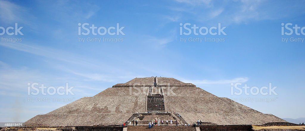 Teotihuacan archaeological site, Mexico stock photo