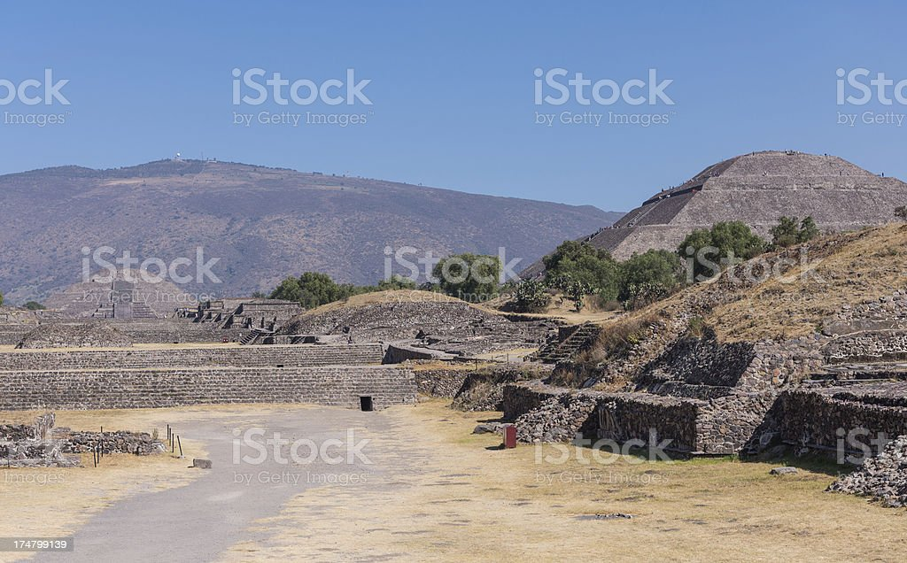 Teotihuacan royalty-free stock photo