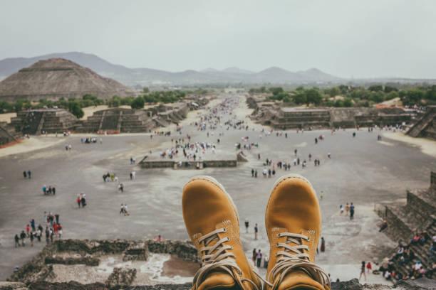 Teotihuacán - foto de stock