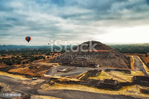 The Pyramid of the Sun is the largest building in Teotihuacan, believed to have been constructed about 200 CE, and one of the largest in Mesoamerica.