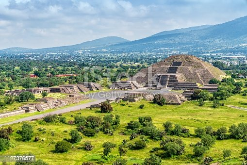 Teotihuacán Pyramids outside Mexico City