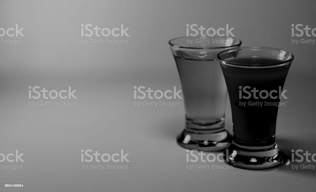 Tekila ve sangrita bardak - Royalty-free Agave Stok görsel