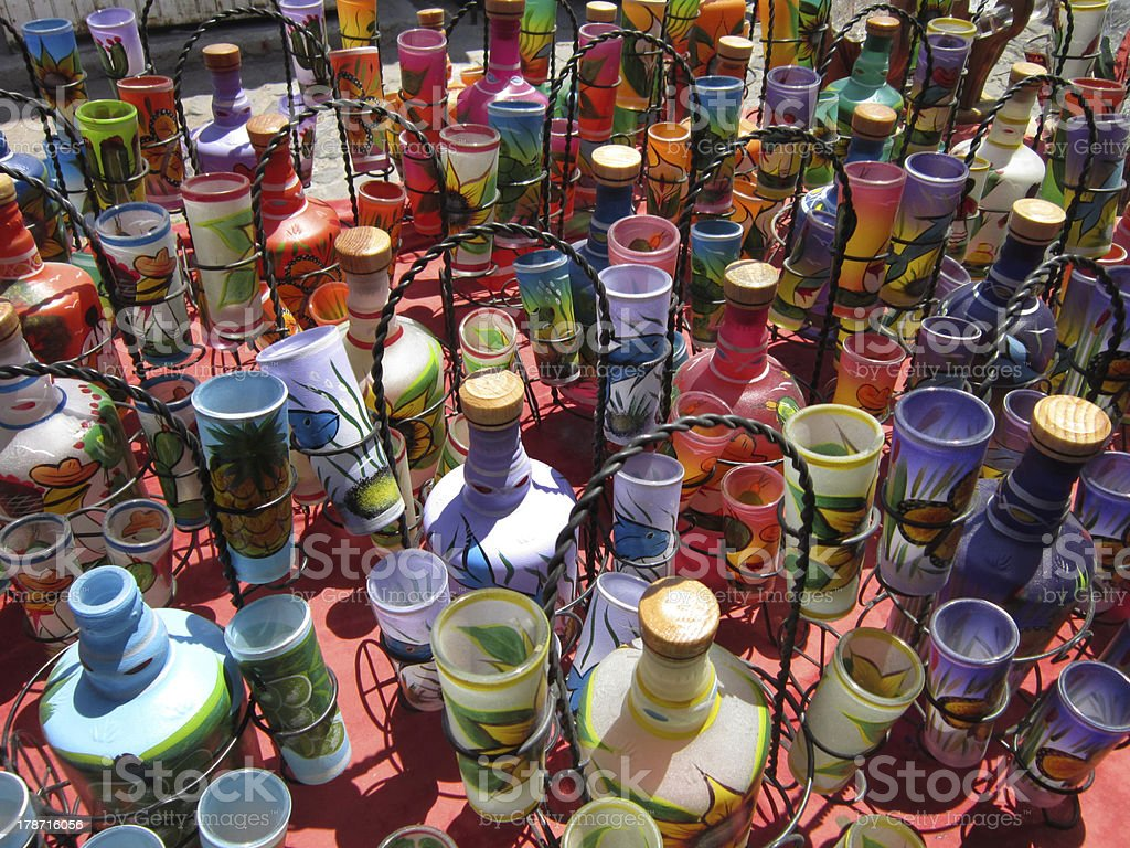 Fotografia De Juegos De Tequila Botella Y Mas Banco De Imagenes De
