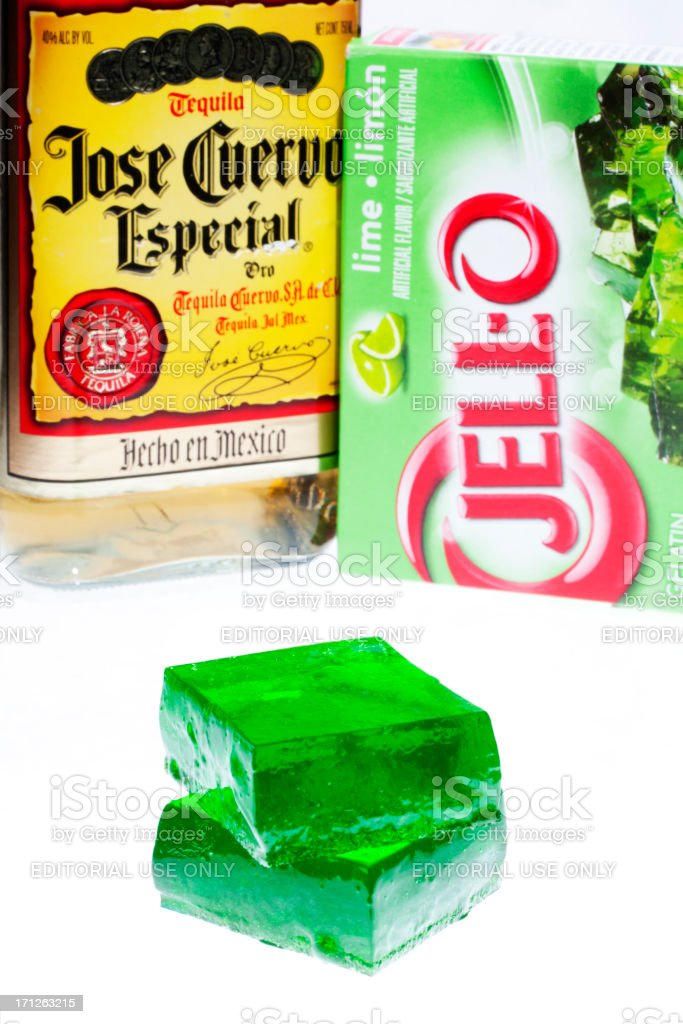 Tequila Lime Jello Jigglers Stock Photo More Pictures Of Alcohol