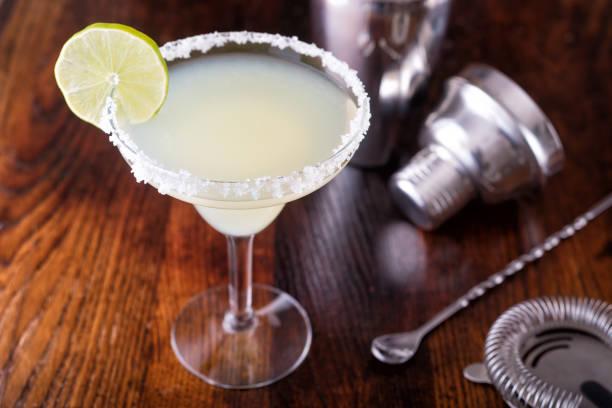 Tequila Margarita Cocktail stock photo