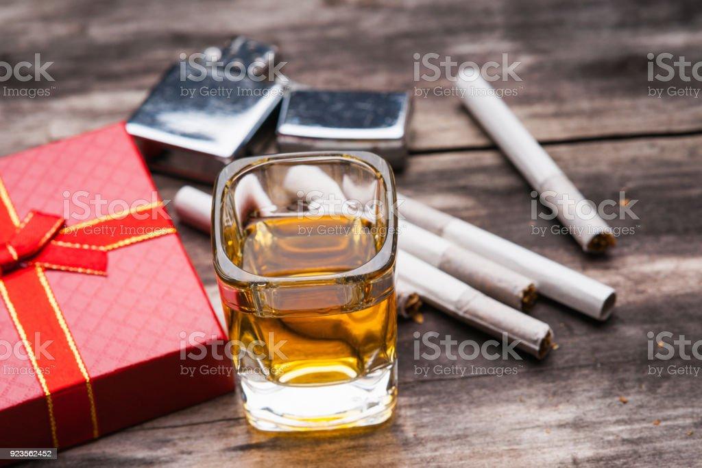 Fotografía de Tequila De Tiros Encendedor Caja De Regalo Y ...