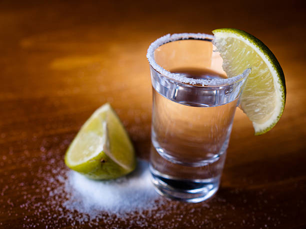 Tequila shot  tequila shot stock pictures, royalty-free photos & images