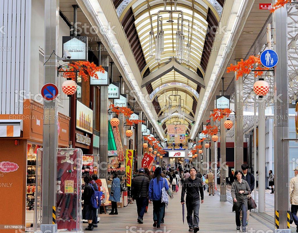Teramachi Street stock photo