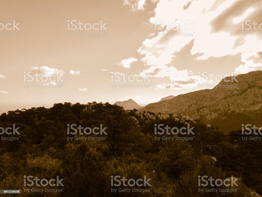 Termessos ruins. Turkey stock photo