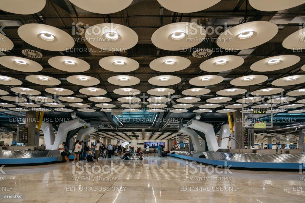 Terminal de l'aéroport Madrid Barajas - Photo