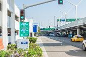 istock LAX terminal parking near freeways 1070333440