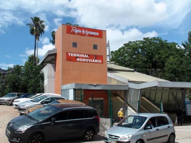 terminal rodoviario, lisbon oriente portugal, people, land vehicle - resultados lisboa imagens e fotografias de stock