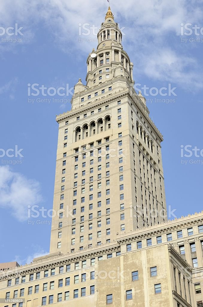 Terminal Tower, Cleveland stock photo