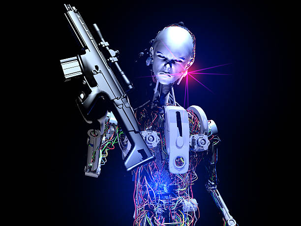 terminator - killer stock pictures, royalty-free photos & images
