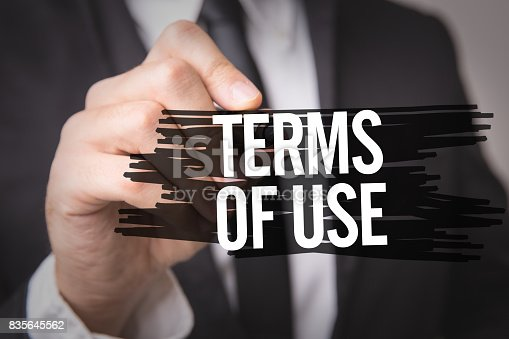 464906632 istock photo Terms of Use 835645562
