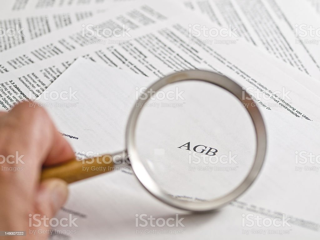 AGB royalty-free stock photo