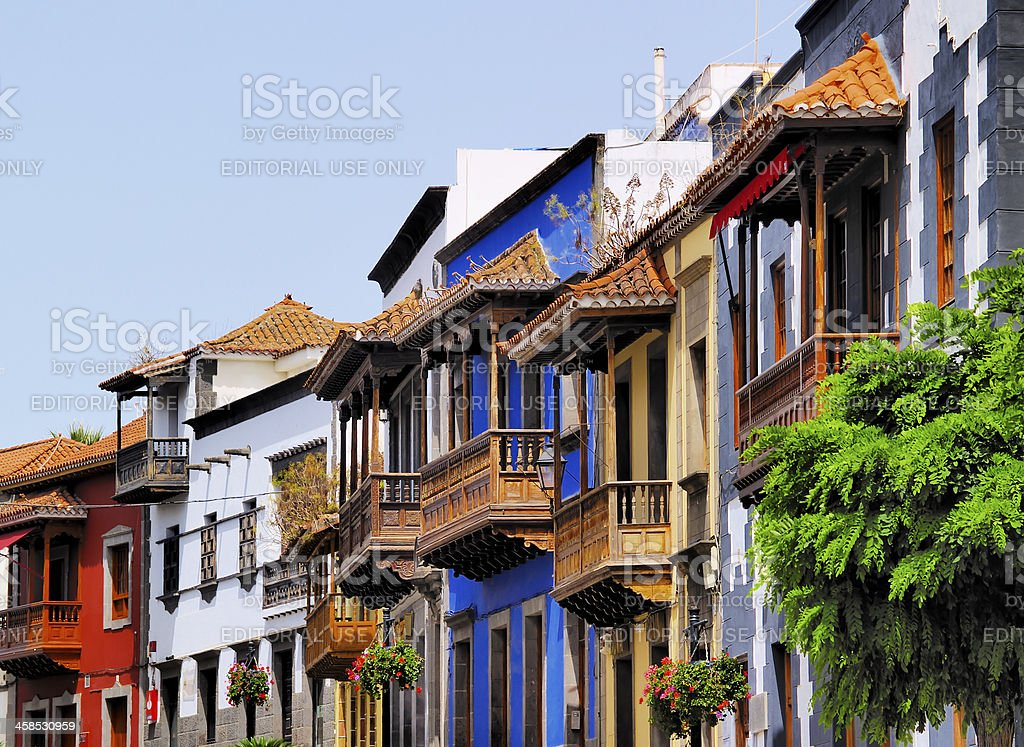 Teror, Gran Canaria royalty-free stock photo
