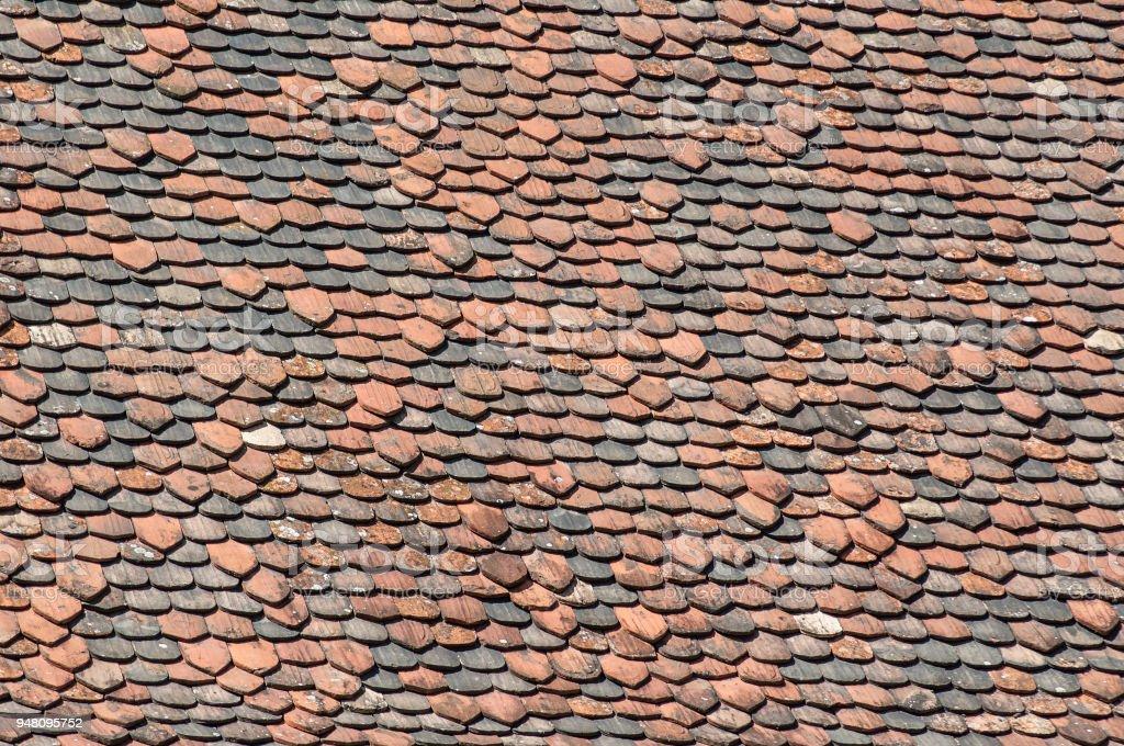 Terra Cotta Roof Tiles Texture Stock Photo - Download Image Now - iStock