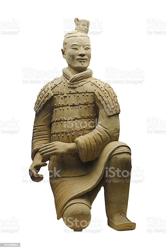 Terra Cotta warior stock photo