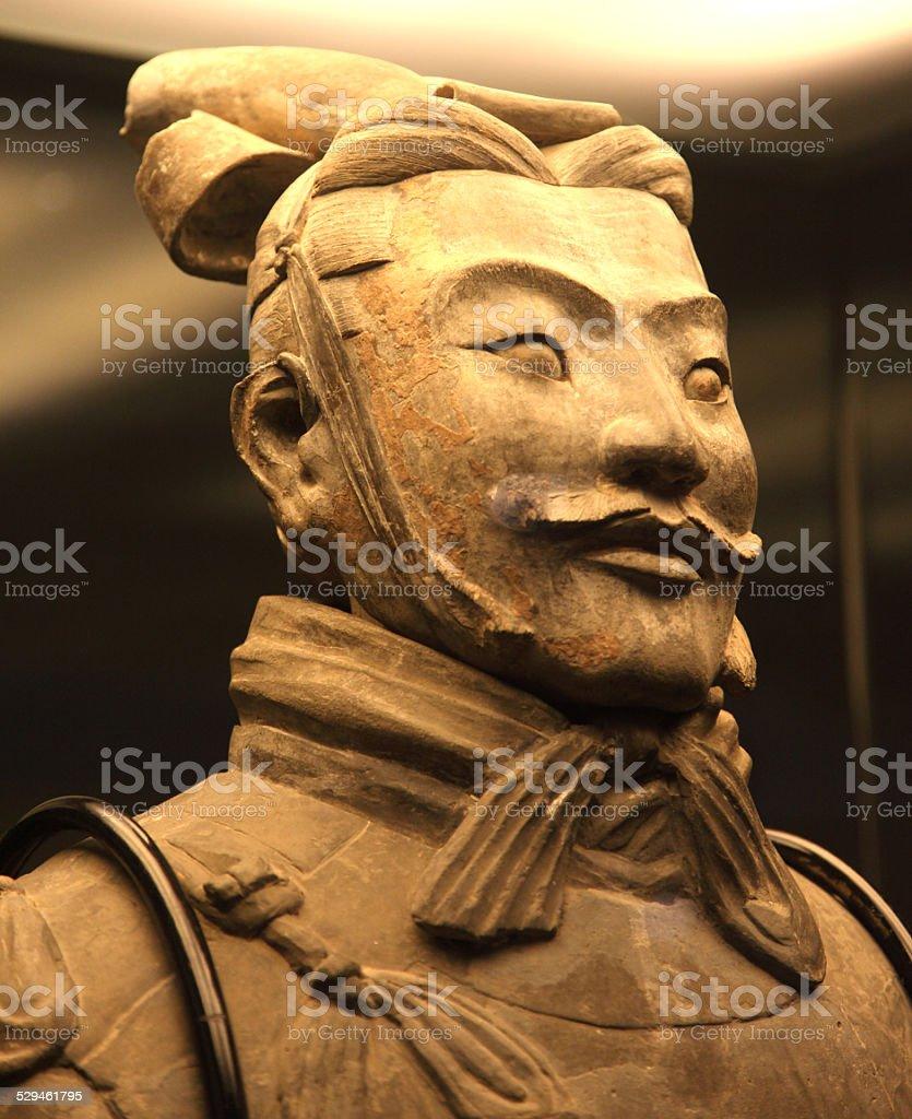 Terra Cotta Warrior stock photo