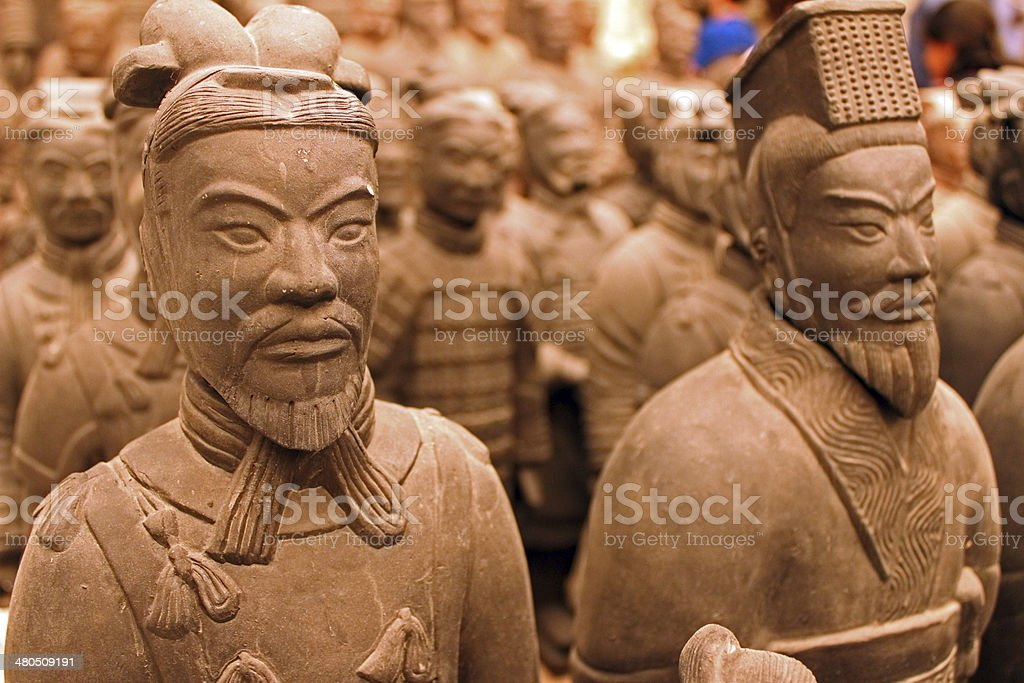 Terra Cotta Warrior Souvenirs stock photo
