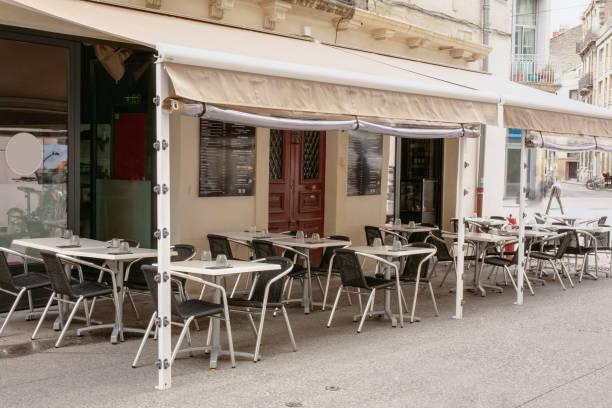 Terrasse eines Restaurants – Foto