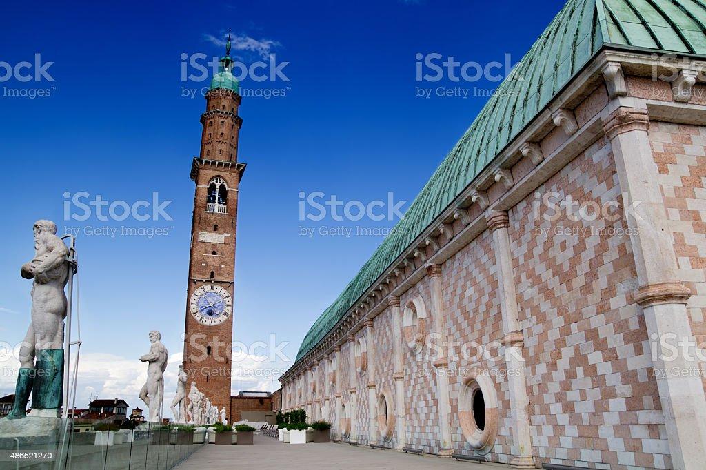 Terrazza della Basilica, Vicenza, Italia - foto stock