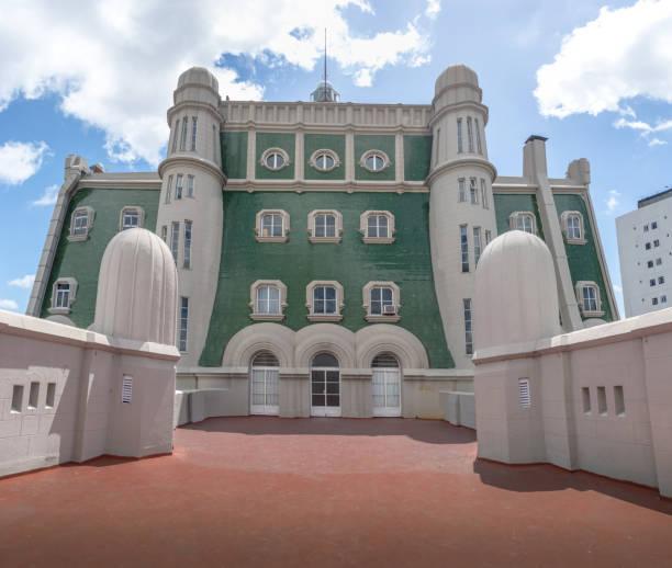 terrasse des palacio barolo (barolo palace) - buenos aires, argentinien - göttliche komödie stock-fotos und bilder