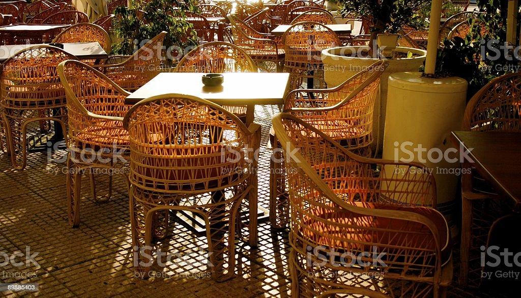 terrace royalty-free stock photo
