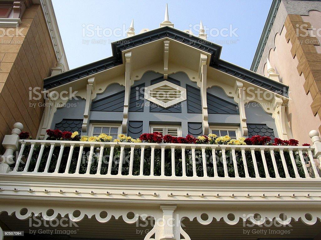 Der Terrasse Lizenzfreies stock-foto