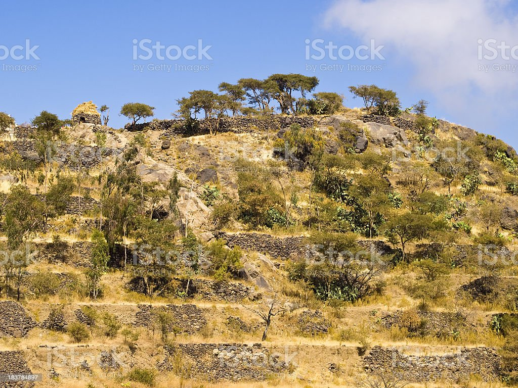 Terraces royalty-free stock photo