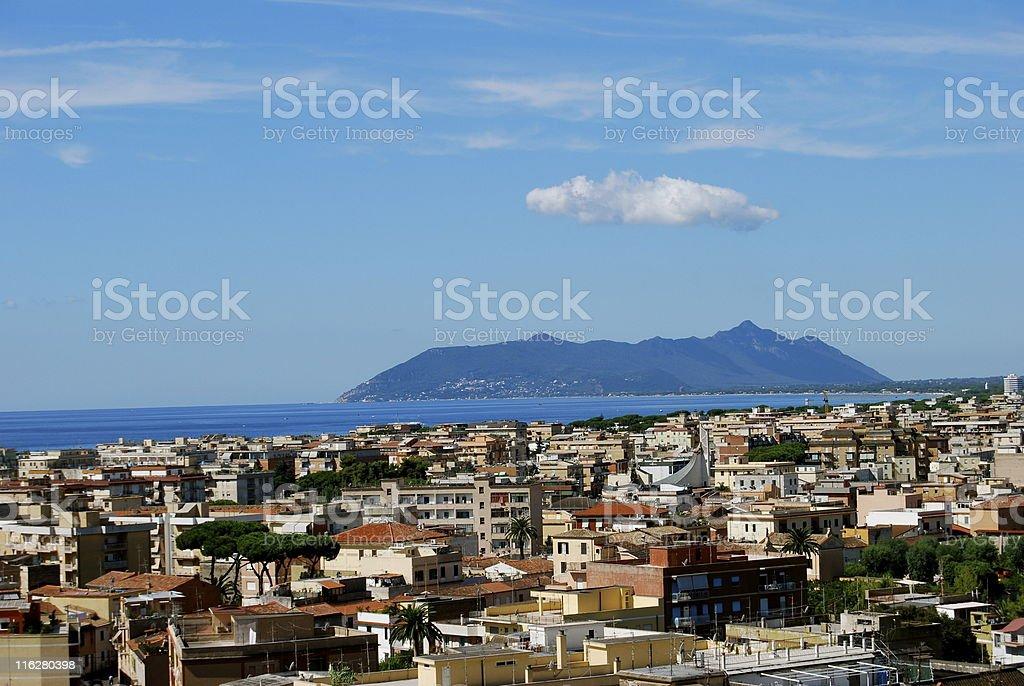 Terracina royalty-free stock photo