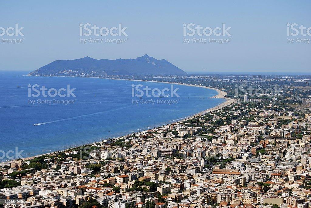 Terracina stock photo