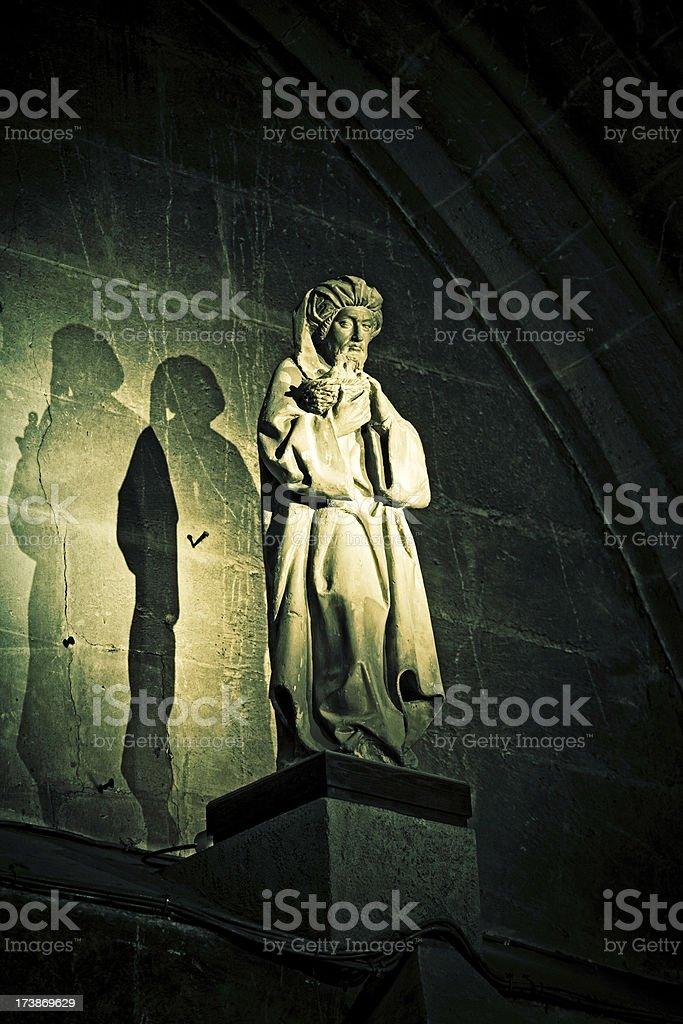 terracota statue stock photo