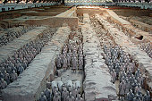 Museum the Terracotta Army in Xian.