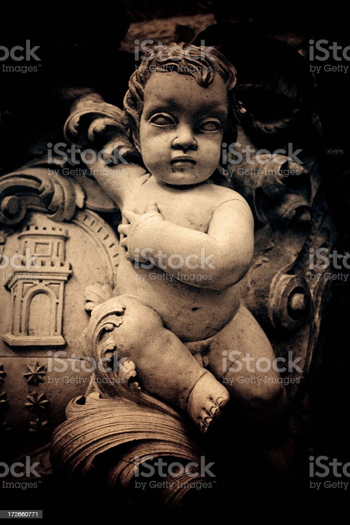 terracota carving royalty-free stock photo