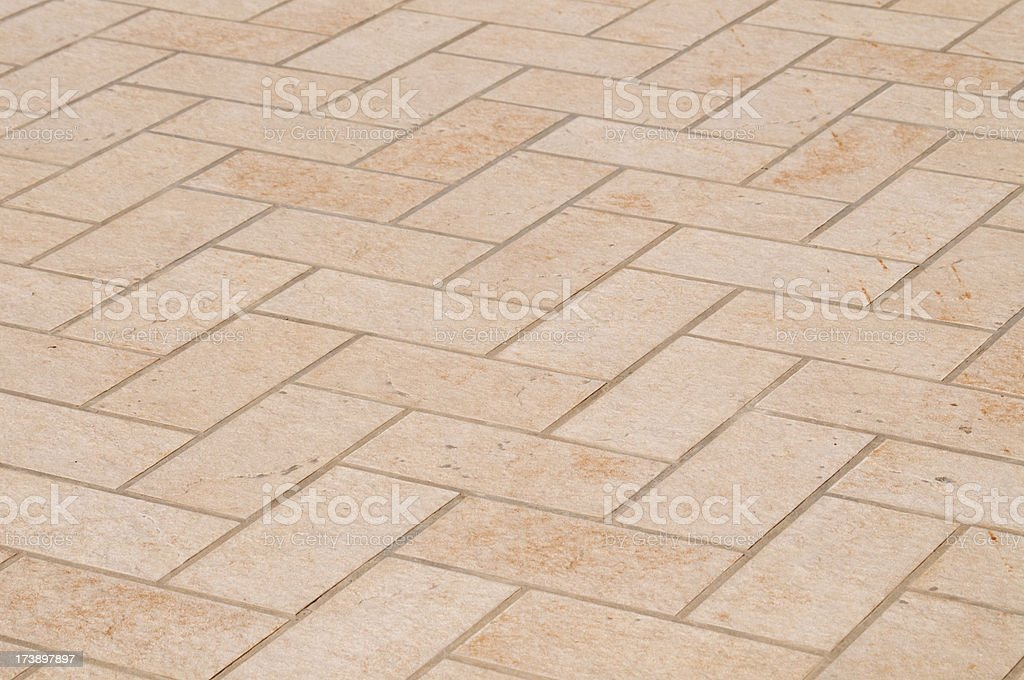 Terracotta floor royalty-free stock photo