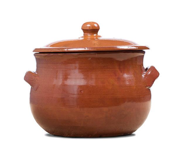terracotta pot stock photo