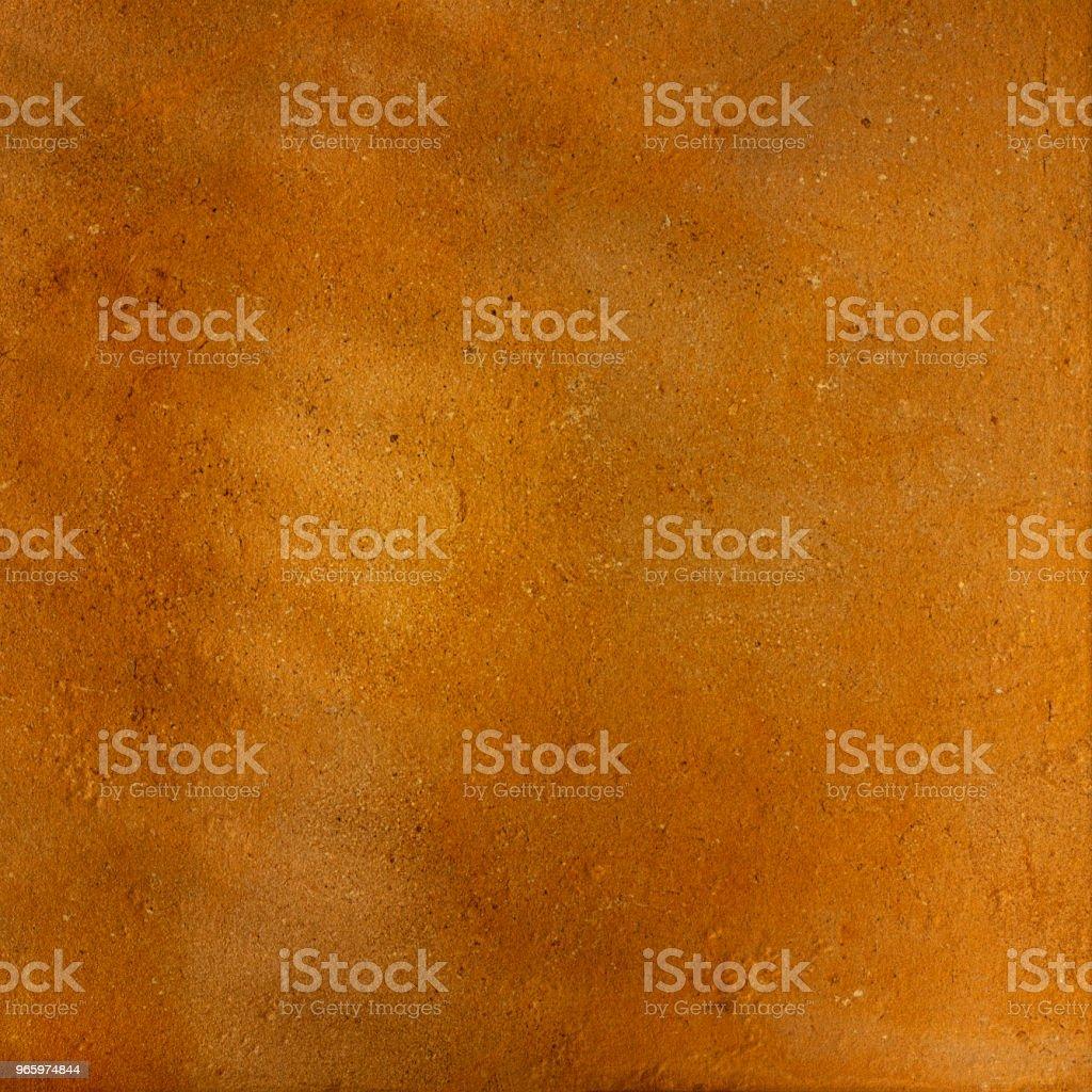 Terracotta rustieke oranje gestructureerde achtergrond. - Royalty-free Abstract Stockfoto