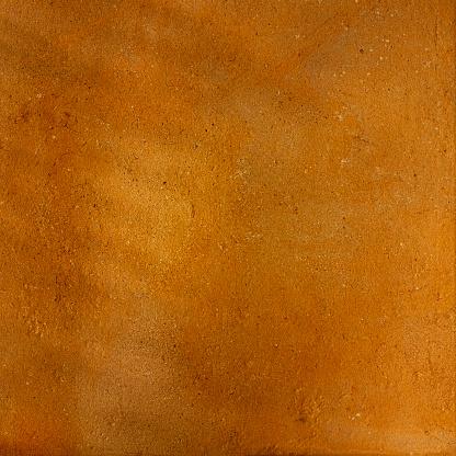 Terracotta Rustieke Oranje Gestructureerde Achtergrond Stockfoto en meer beelden van Abstract