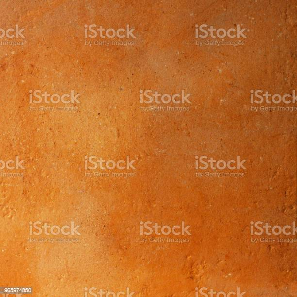 Terracotta Rustic Orange Textured Background - Fotografias de stock e mais imagens de Abstrato